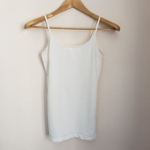 Forever 21 White Camisole Tank Top
